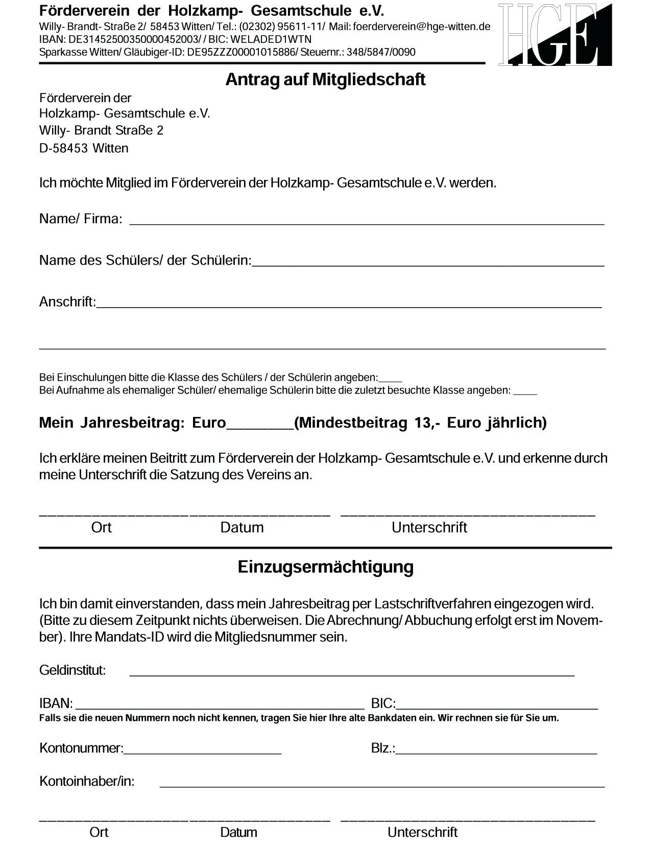 Beste Aufnahmeformular Schule Galerie - FORTSETZUNG ARBEITSBLATT ...